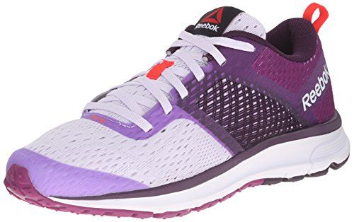 Reebok Womens One Distance Running Shoe Lilac IceRoyal OrchidFierce FuchsiaNeon Cherry 7 M US >>> You can find out more details at the link of the image.