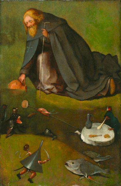 Kansas'taki bir müzede bulunan ve 2003'ten bu yana sergilenmeyen bir yağlı boya tablonun Hieronymus Bosch'a ait olduğu anlaşıldı.