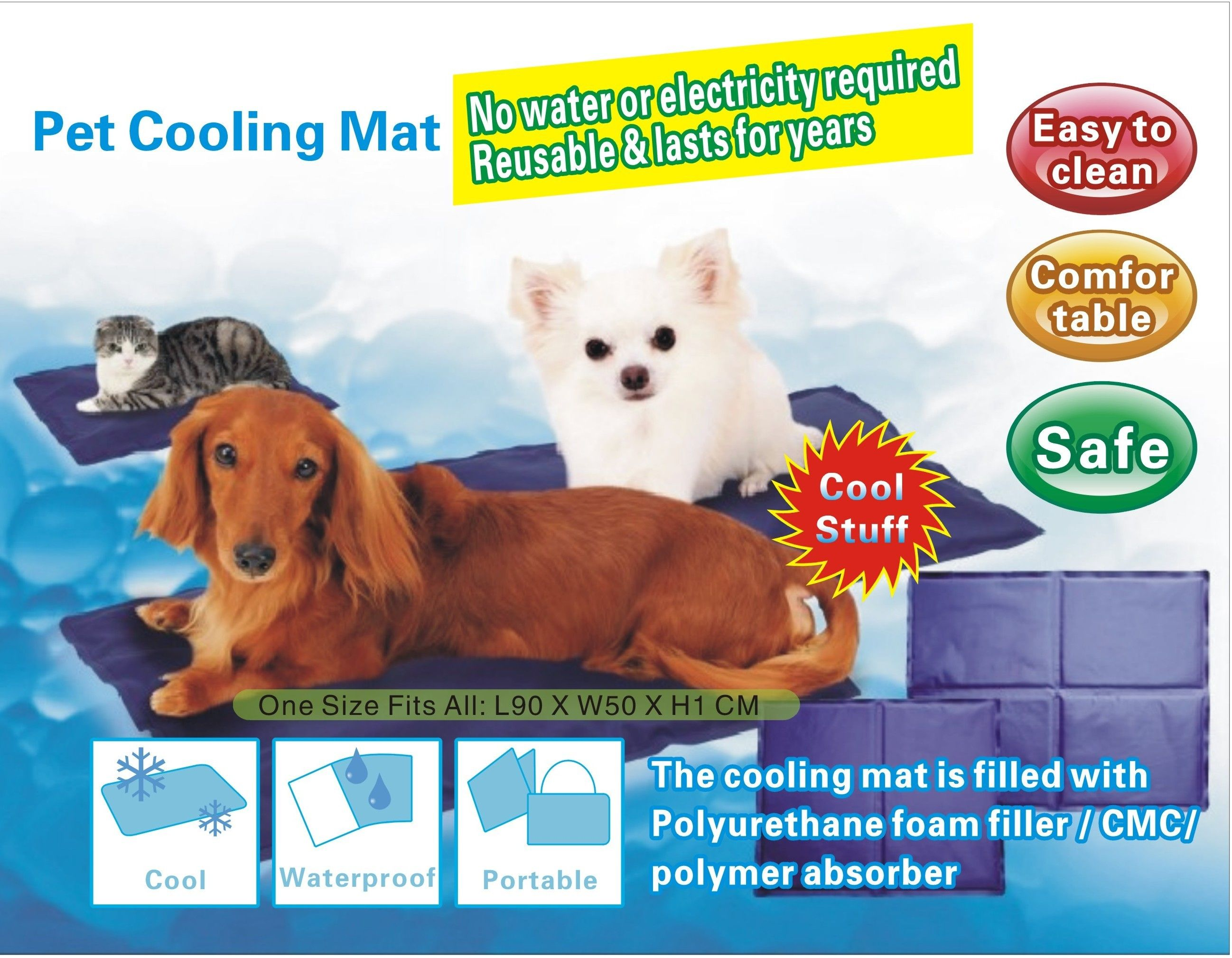 Get Online Dog Cooling Mat Dog Cooling Mat Pet Cooling Pad Your Dog