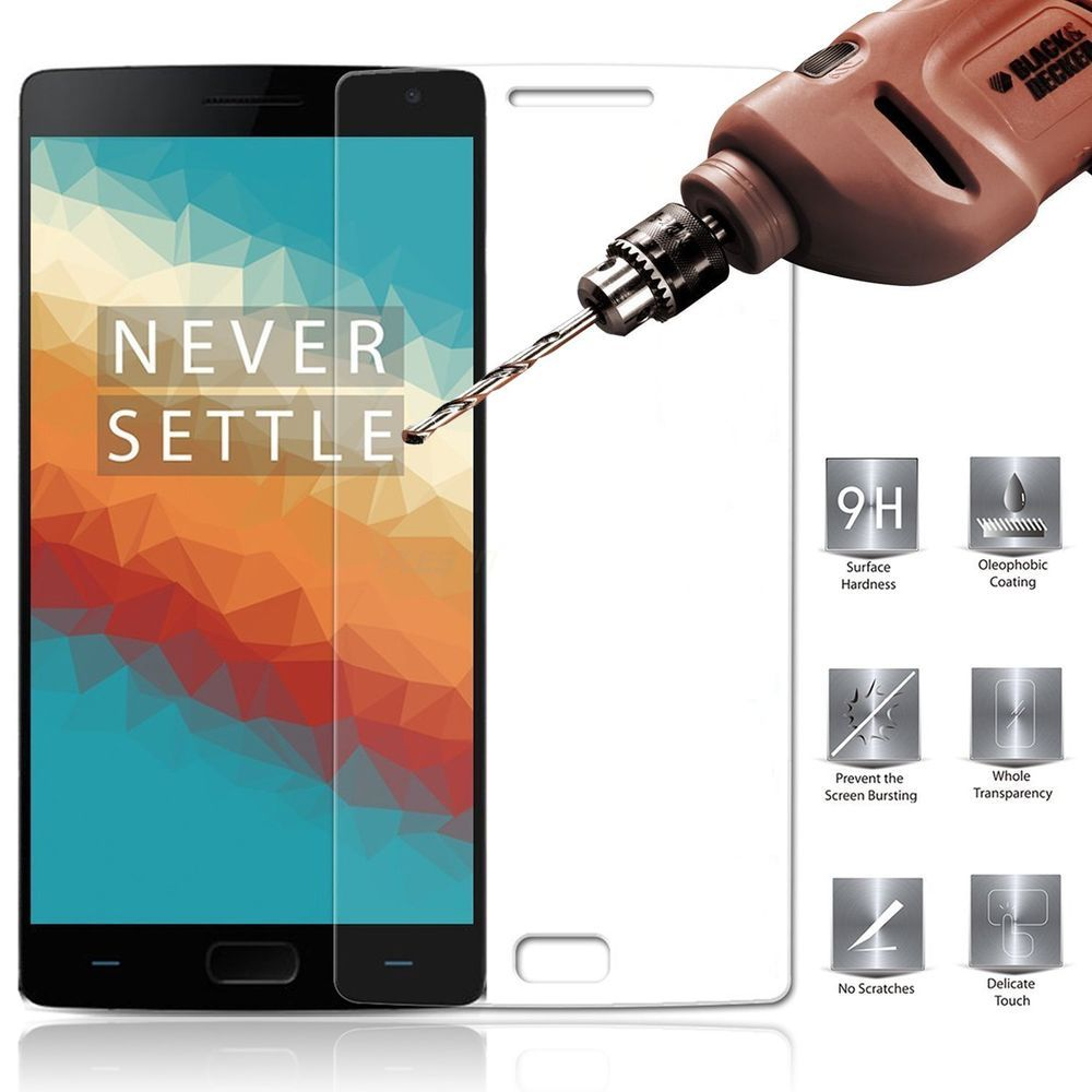 FEYE® 9H Hardness Bubble-Free Tempered Glass Screen Protector for OnePlus 2