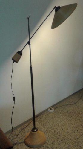 hengellamp jaren 50 60 vintage lamp retro design vloerlamp lampen vloerlampen. Black Bedroom Furniture Sets. Home Design Ideas