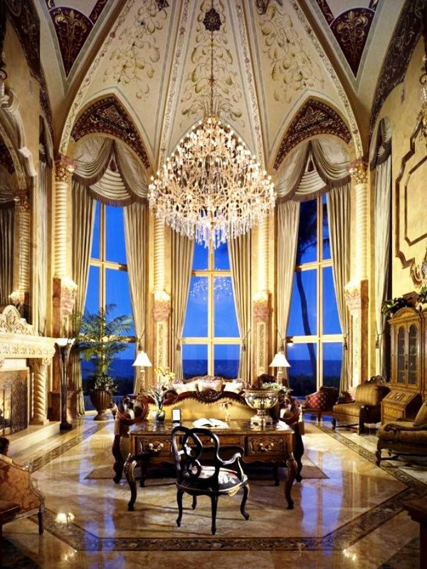 Emphasis The Main Focal Point Of This Room Is The Chandelier It Is Large And Luxurious And Literally Glow Luxury Interior Luxury Interior Design Luxury Homes