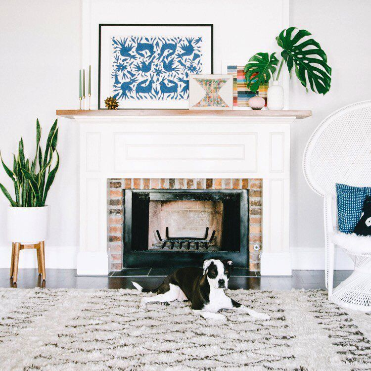 10 must have pieces for your bohemian home boho modern - Modern mantel decor ideas ...