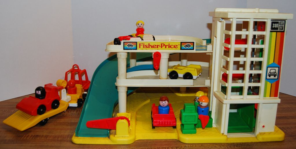 Vintage Little People by Fisher Price  Some friend had it