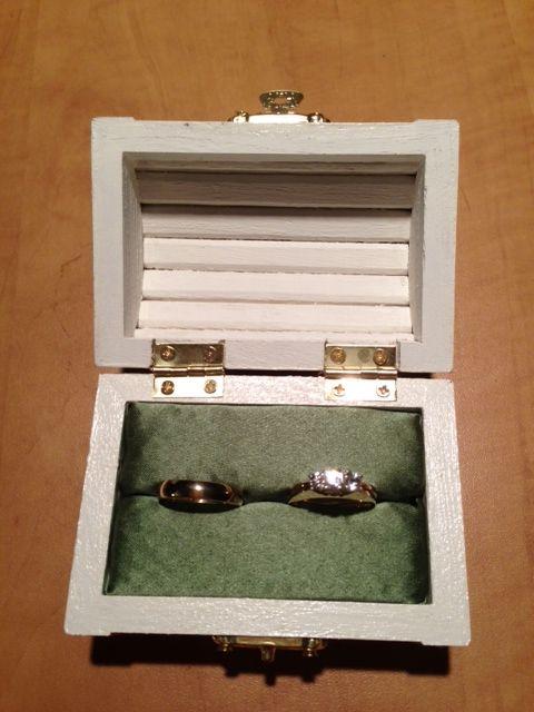 Diy Treasure Chest Ring Box With Pics Weddingbee