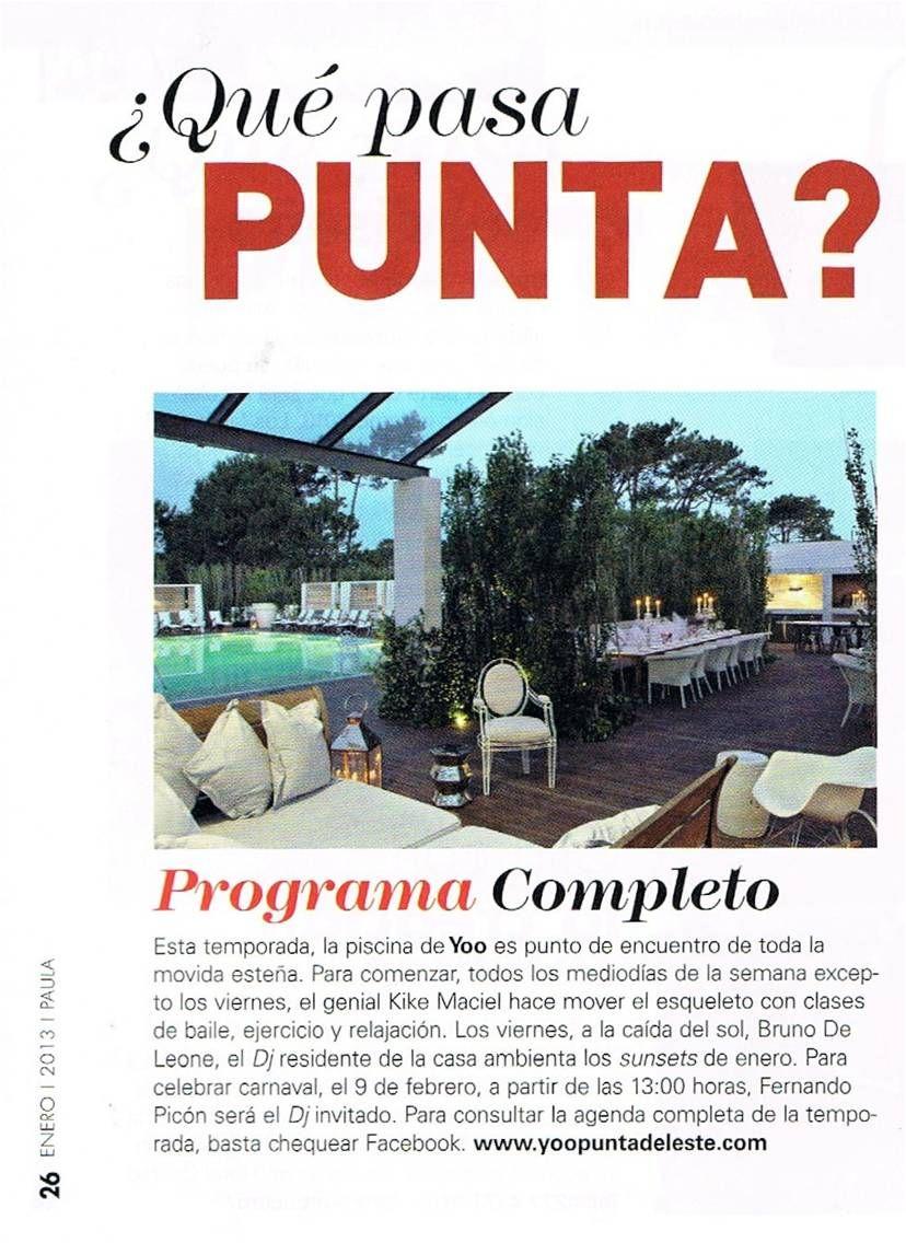 ¿Qué pasa en Punta?