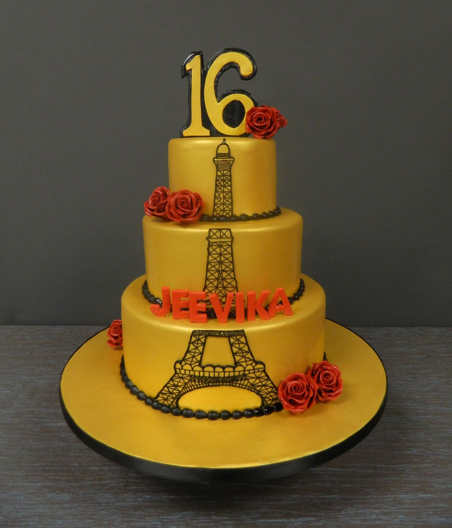 We're Off To Paris For This Sweet 16!