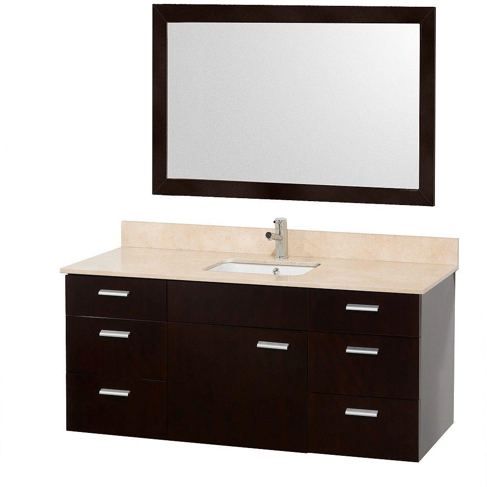 Pin On Wall Mounted Bathroom Vanity