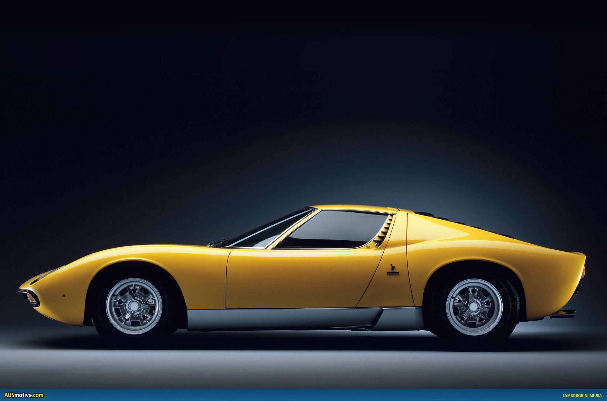 1973 Lamborghini Miura.