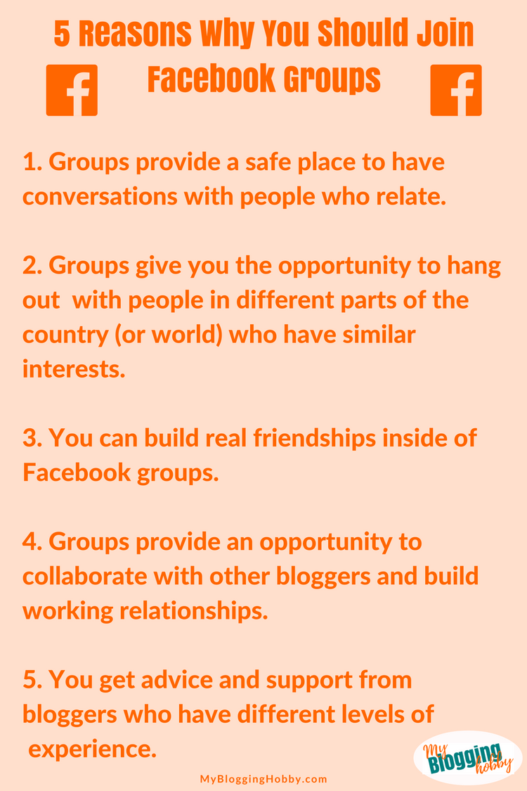 5 Reasons Why You Should Join Facebook Groups