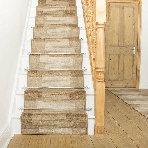 Best Benedick Tufted Beige Stair Runner Ebern Designs Rug Size 400 x 300