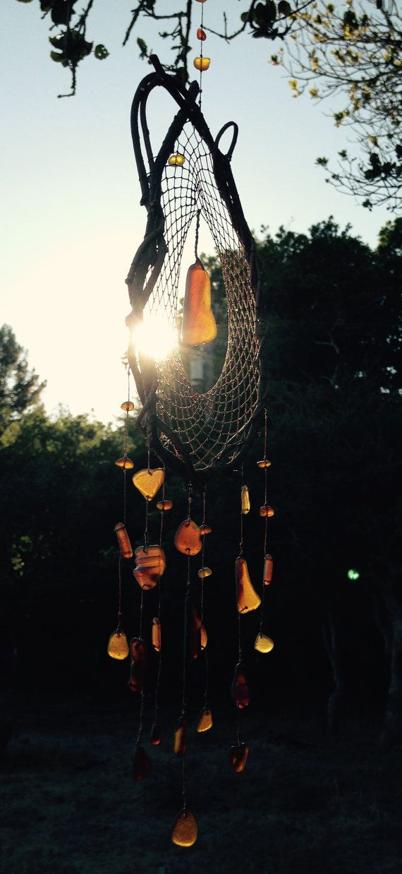 Raw Honey Dripping  Sunshine Day-Dream-Catcher: by mintjellies