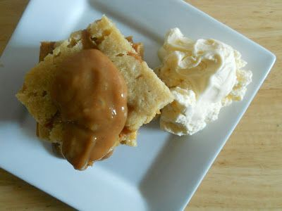 Ally's Sweet and Savory Eats: Boozy and Spiced Caramel Blondies