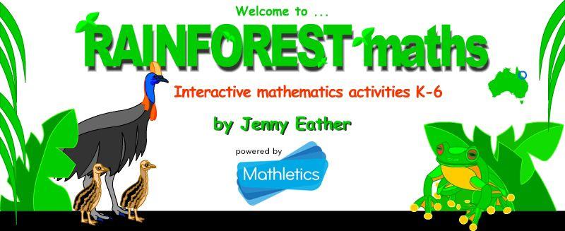 Rainforest Maths - interactive math activities for grades K-6 | Math ...
