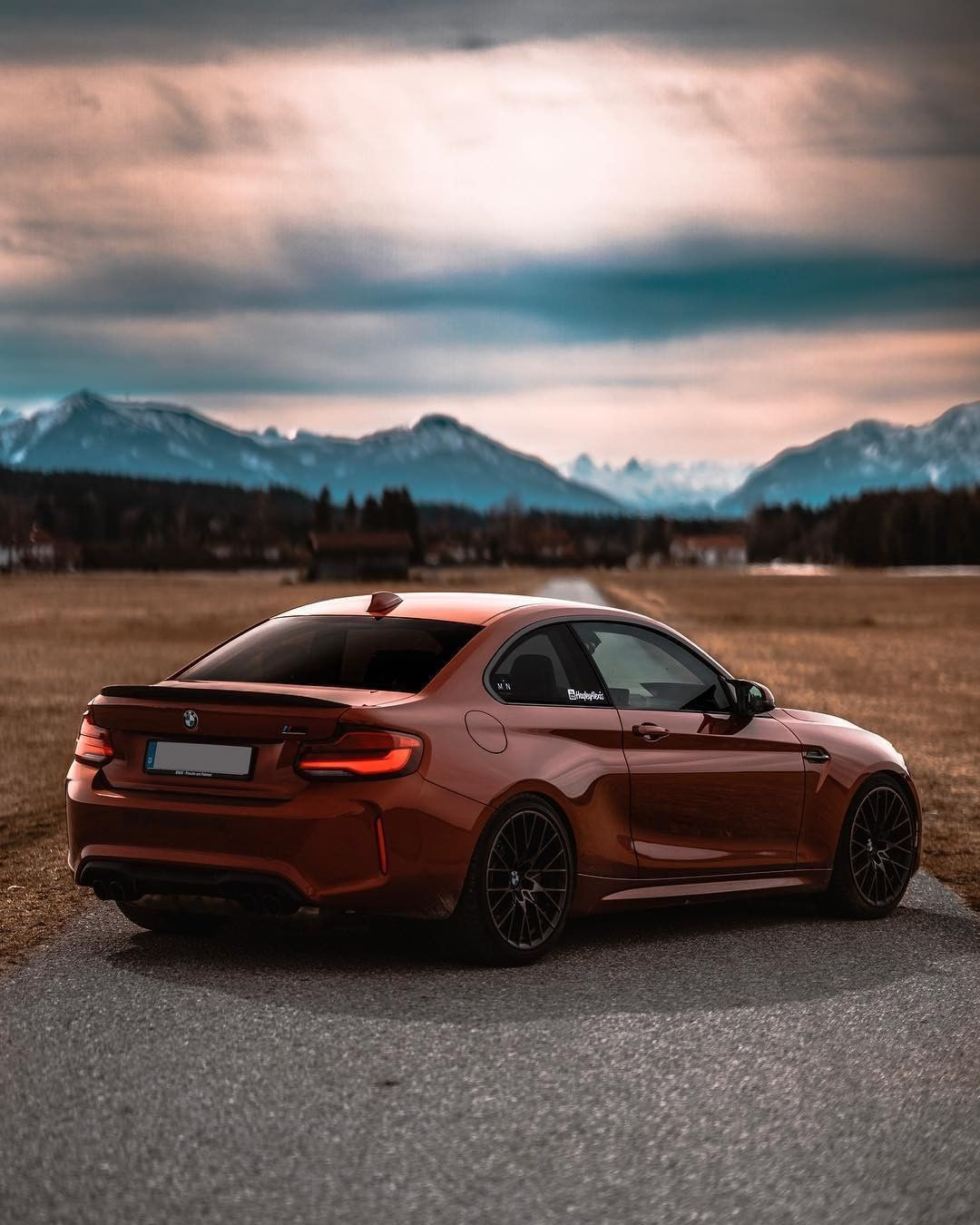 Bmw F87 M2 Competition In Sunset Orange Metallic Mpn Photography