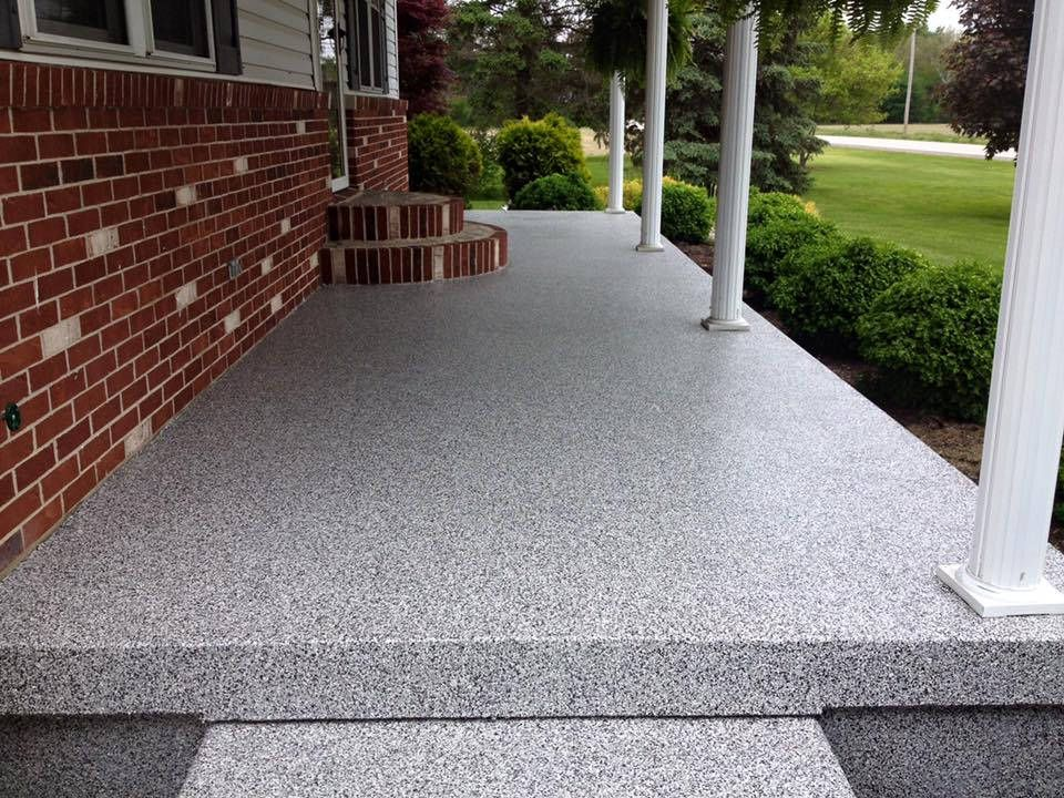 How Much Does Concrete Resurfacing Cost Concrete porch