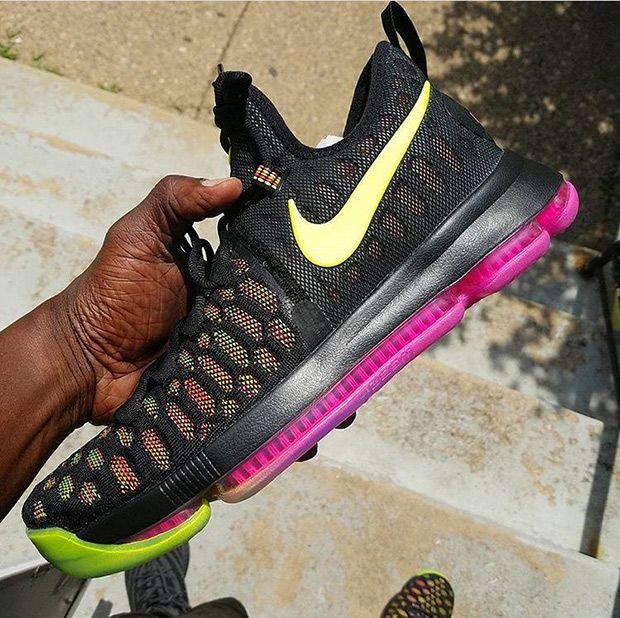 9c4a187d50cc Kevin Durant s busy off-season won t just be defined by his free-agency as  the success of the upcoming KD 9 is imminent. The Flyknit construction ...
