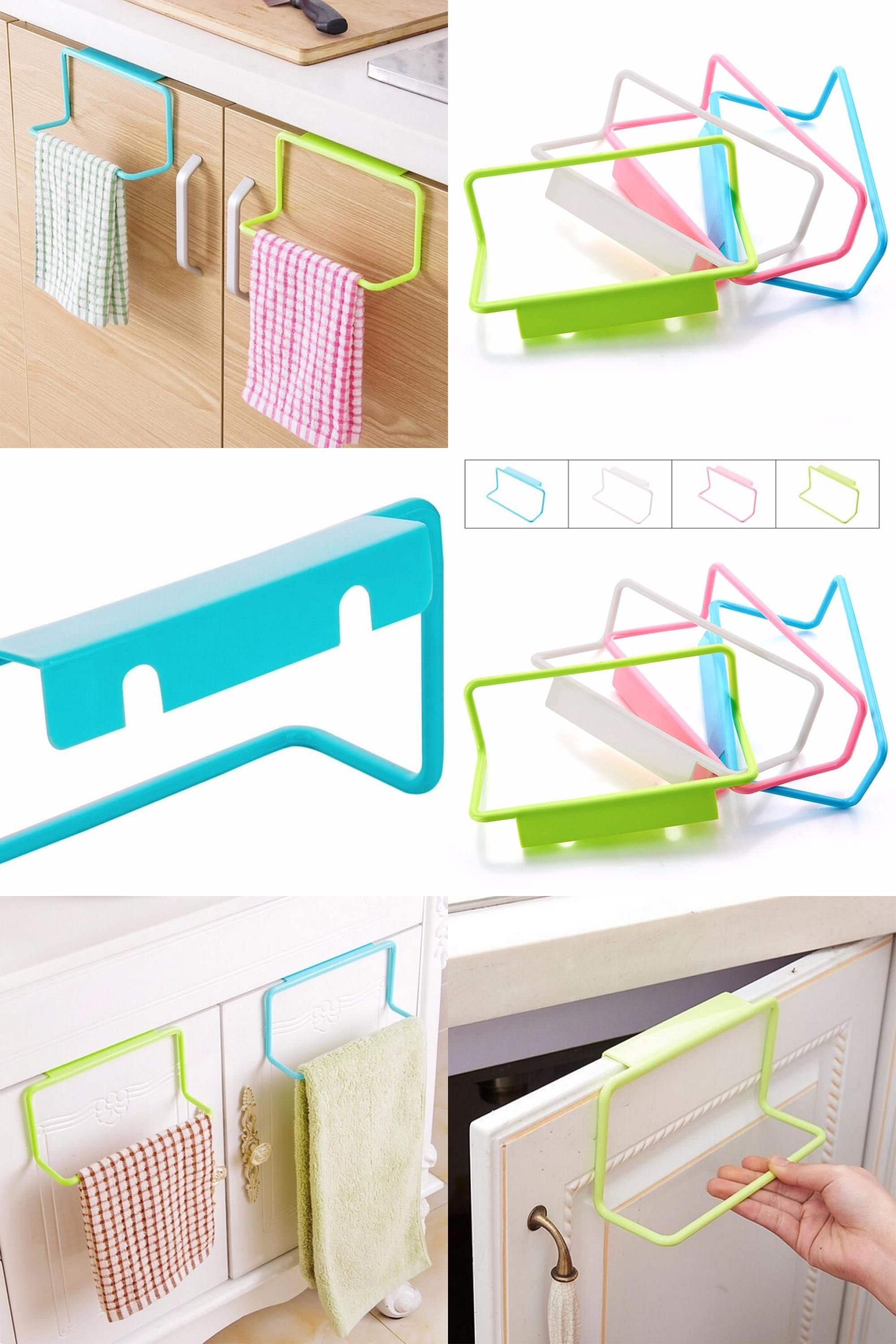 Visit to Buy] 1Pc New Portable Kitchen Cabinet Over Door Hanging ...