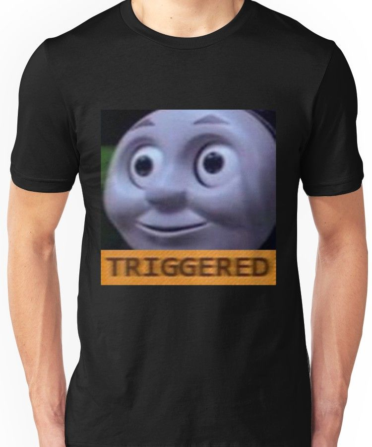 f05a6069e Triggered Thomas The Train meme Unisex T-Shirt | Products ...