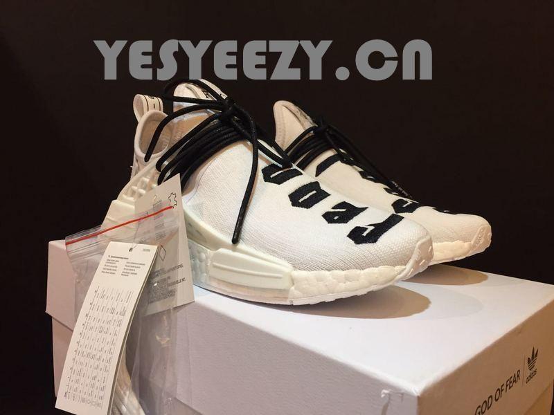 3664c2a4a8452 UA Fear of God X Adidas NMD Collaborate Human Race Boost White - UA ...