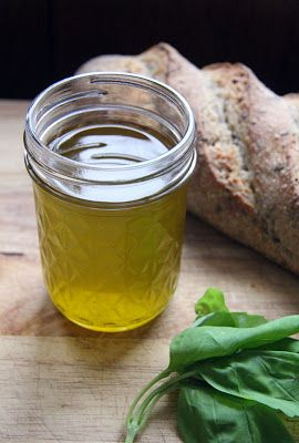 What I'm Giving: Basil-Infused Olive Oil #oliveoils