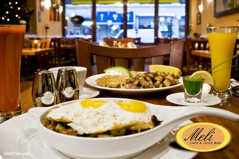 Meli Cafe Juice Bar I Love The Greektown Location Chicago Il Some Great Clean Eating Options Too Breakfast Spot Eat Food And Drink