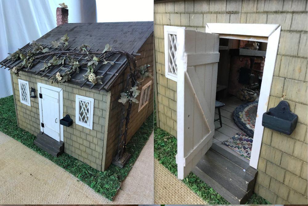Details about Artisan 1950s Miniature Museum Caretakers