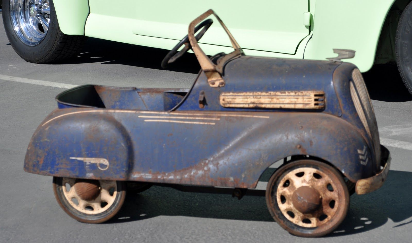 pedal cars for sale | Just a car guy : One cool pedal car | Old ...
