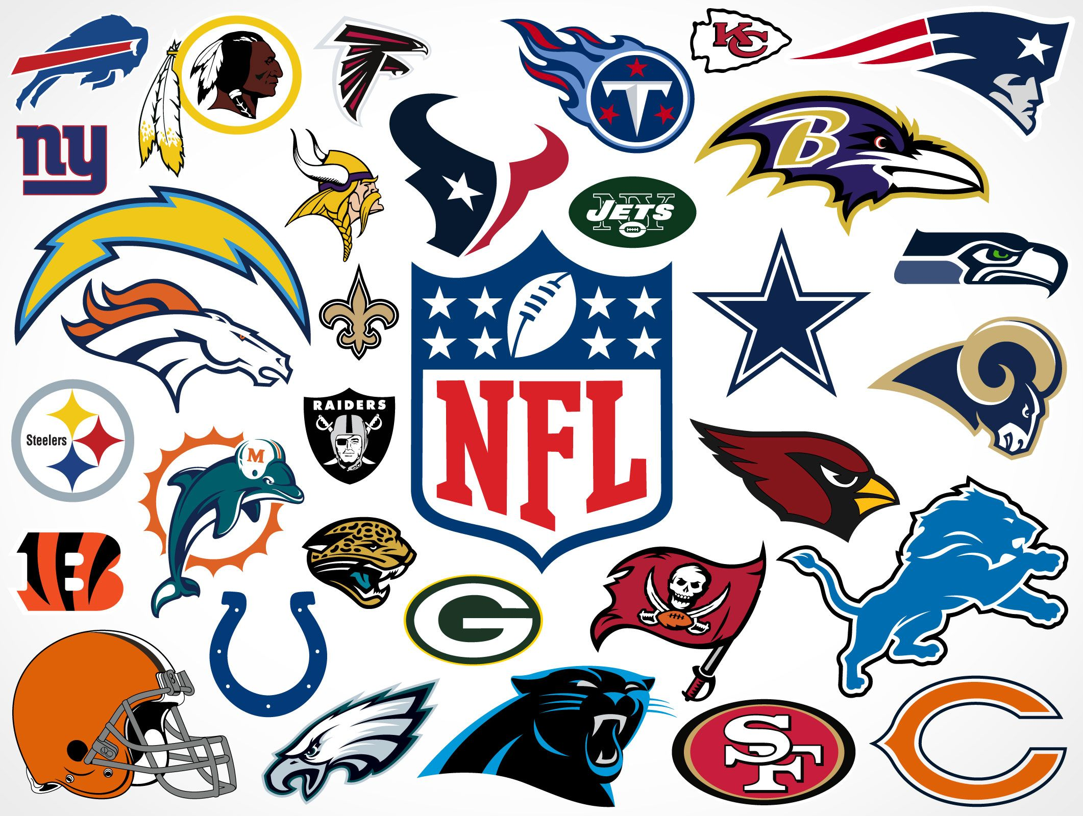 poster of all nfl teams - Google Search | Teams and Logos posters ...
