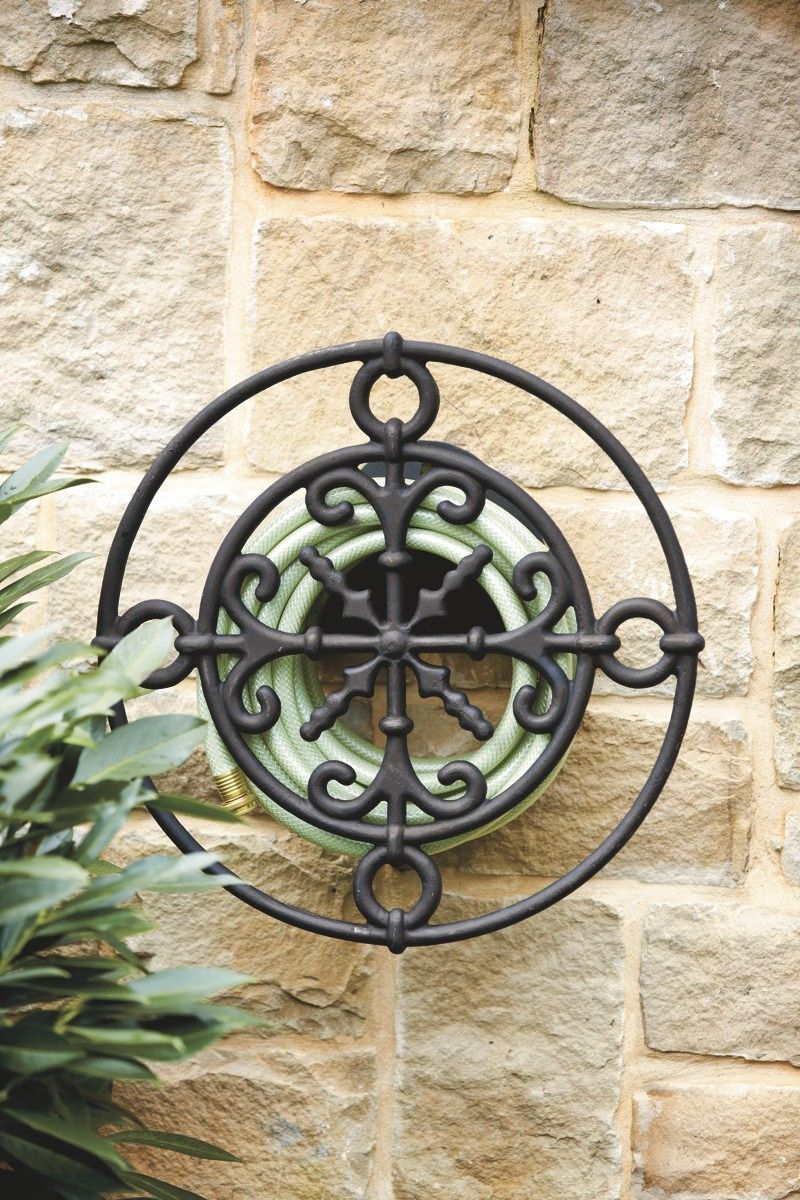 medallion wall hose holder now available at ballarddesigns com medallion wall hose holder now available at ballarddesigns com