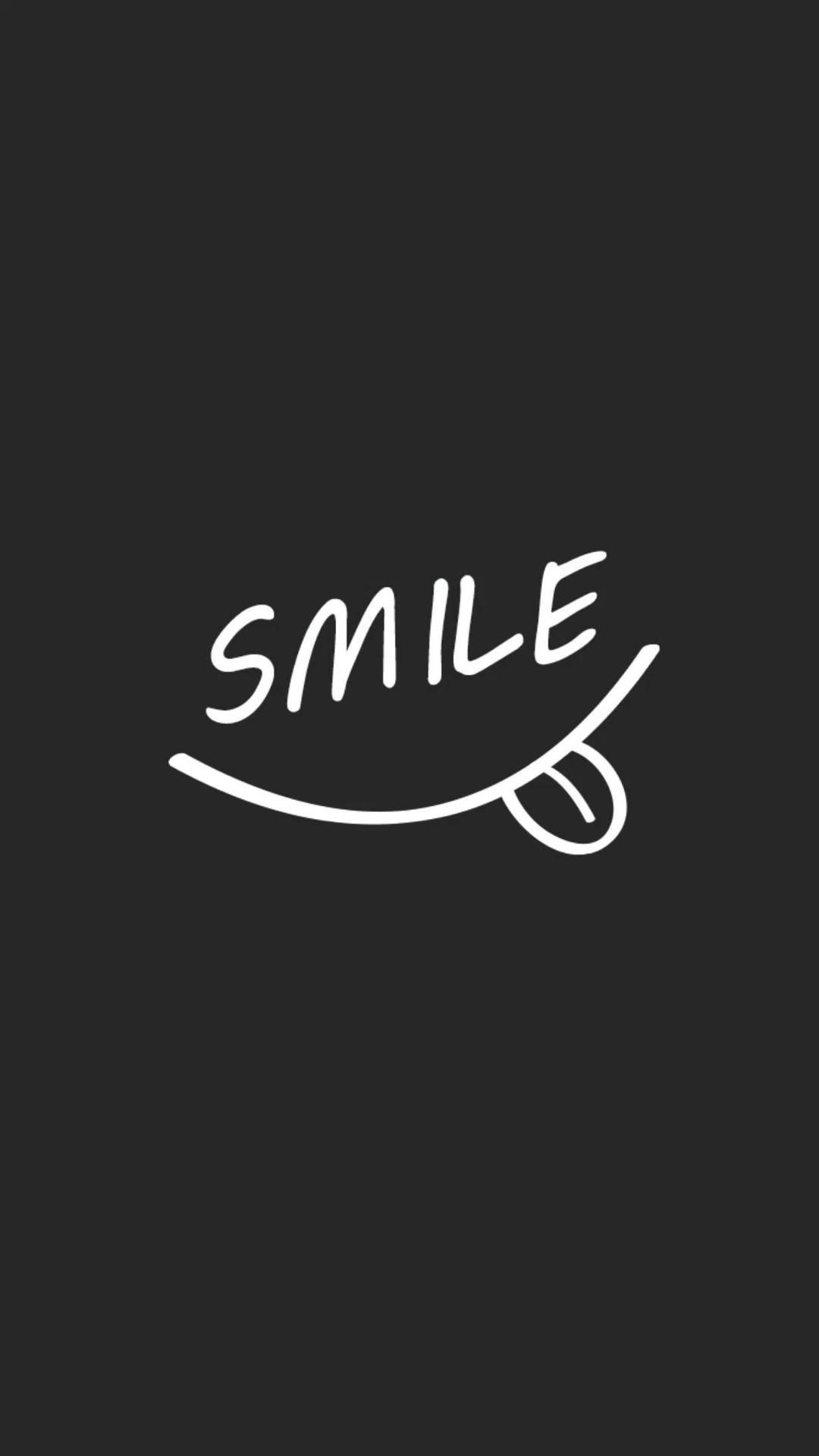 Smiley face aesthetic iPhone wallpapers