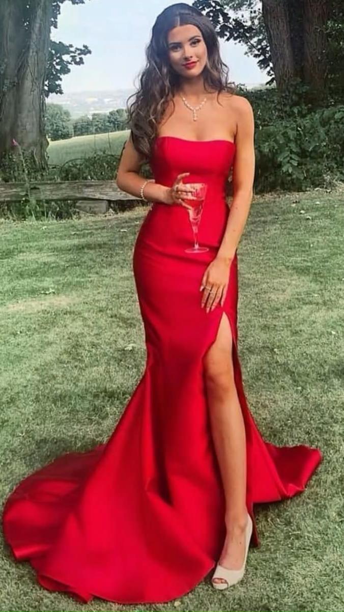 simple &hot prom dress
