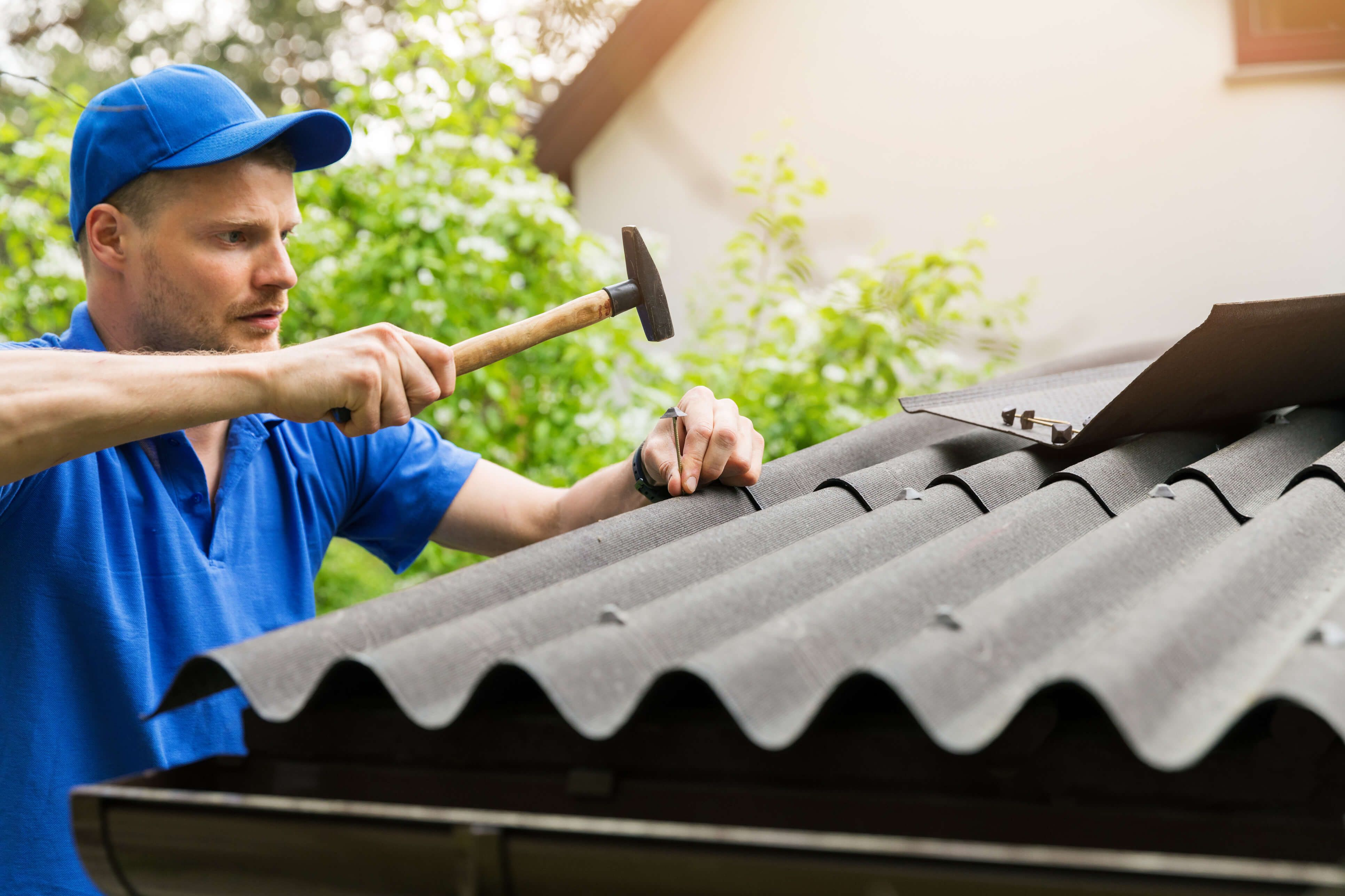 Storm Hail Roof Damage Repair Service Peachtree City GA | Roof repair,  Metal roof repair, Cool roof
