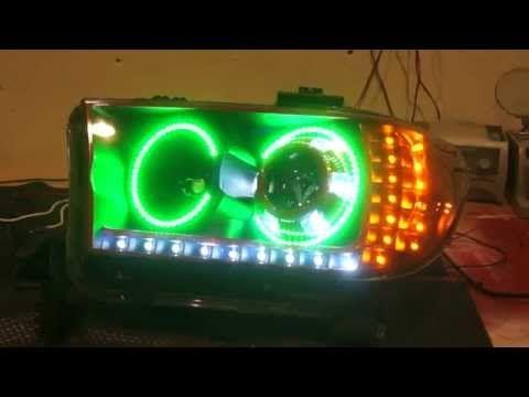 LED Tundra Halo Headlights   Custom Built   LED Concepts   YouTube Amazing Ideas