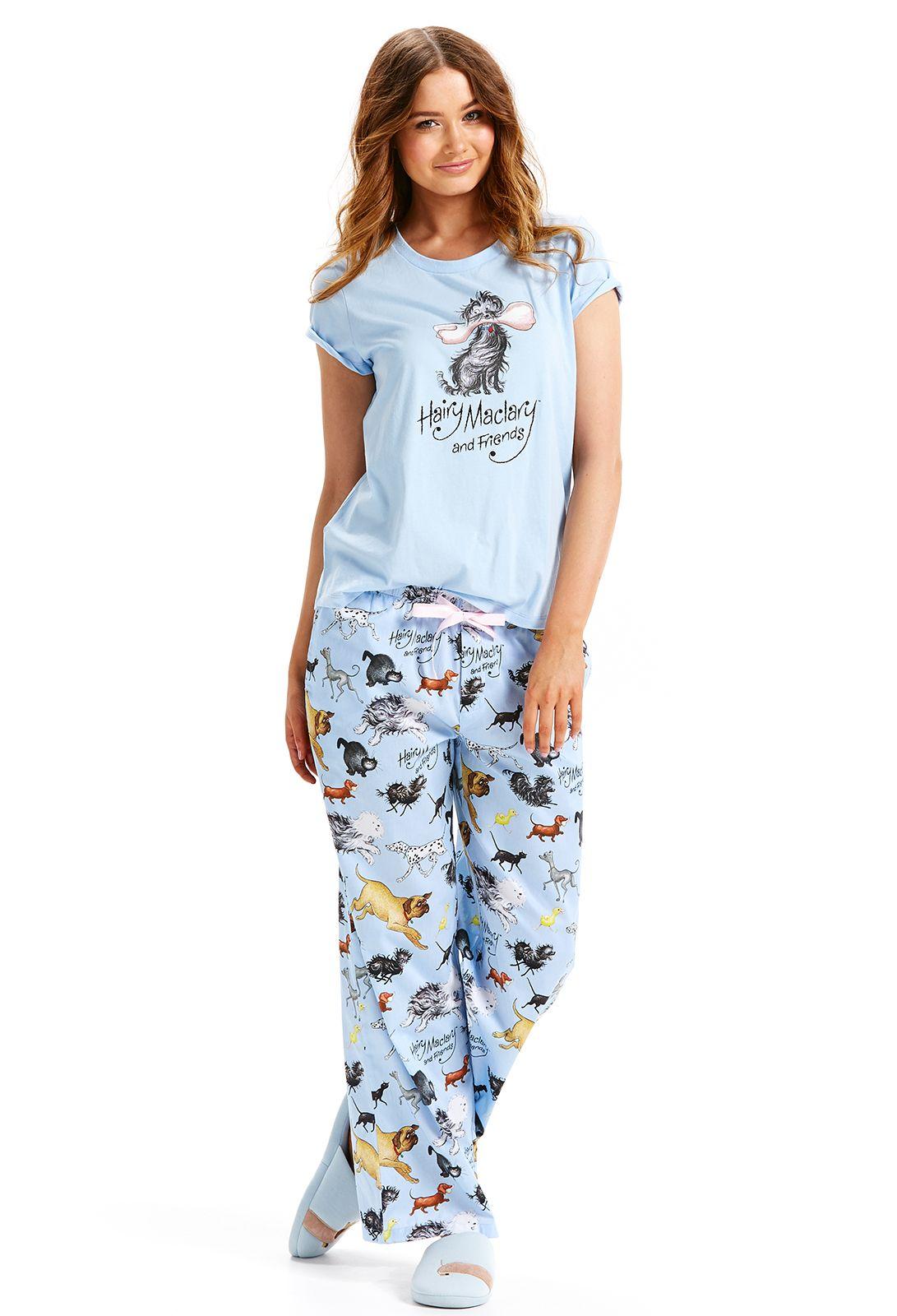 171b7022ca999 Peter Alexander Hairy Maclary Women's Classic Pant Sleepwear Set ...