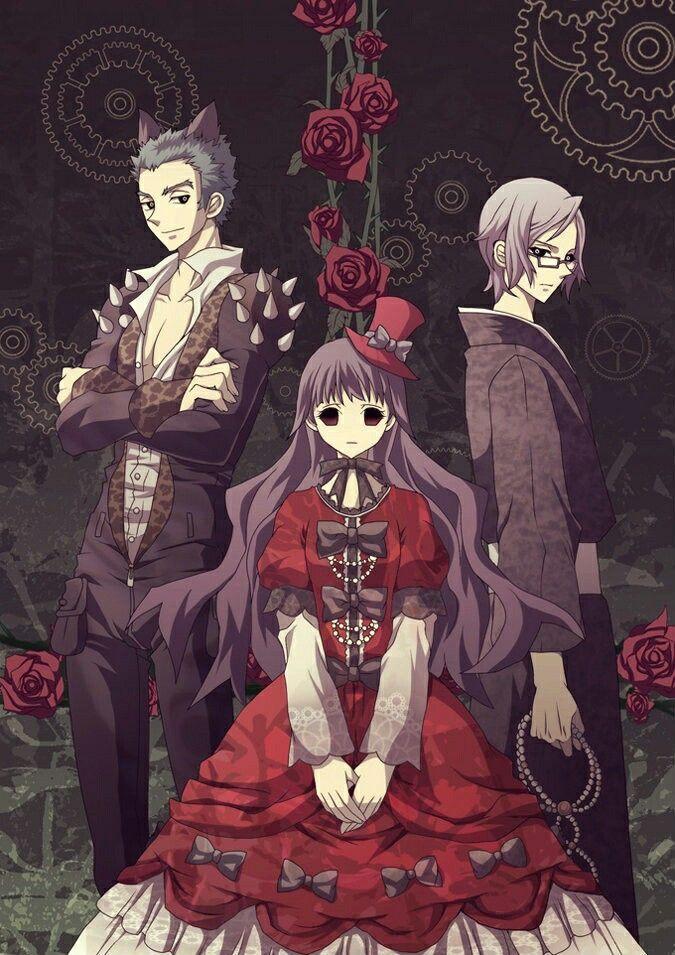 Shiki Tatsumi Sunako Kirishiki And Seishin Muroi We Will Protect Her From