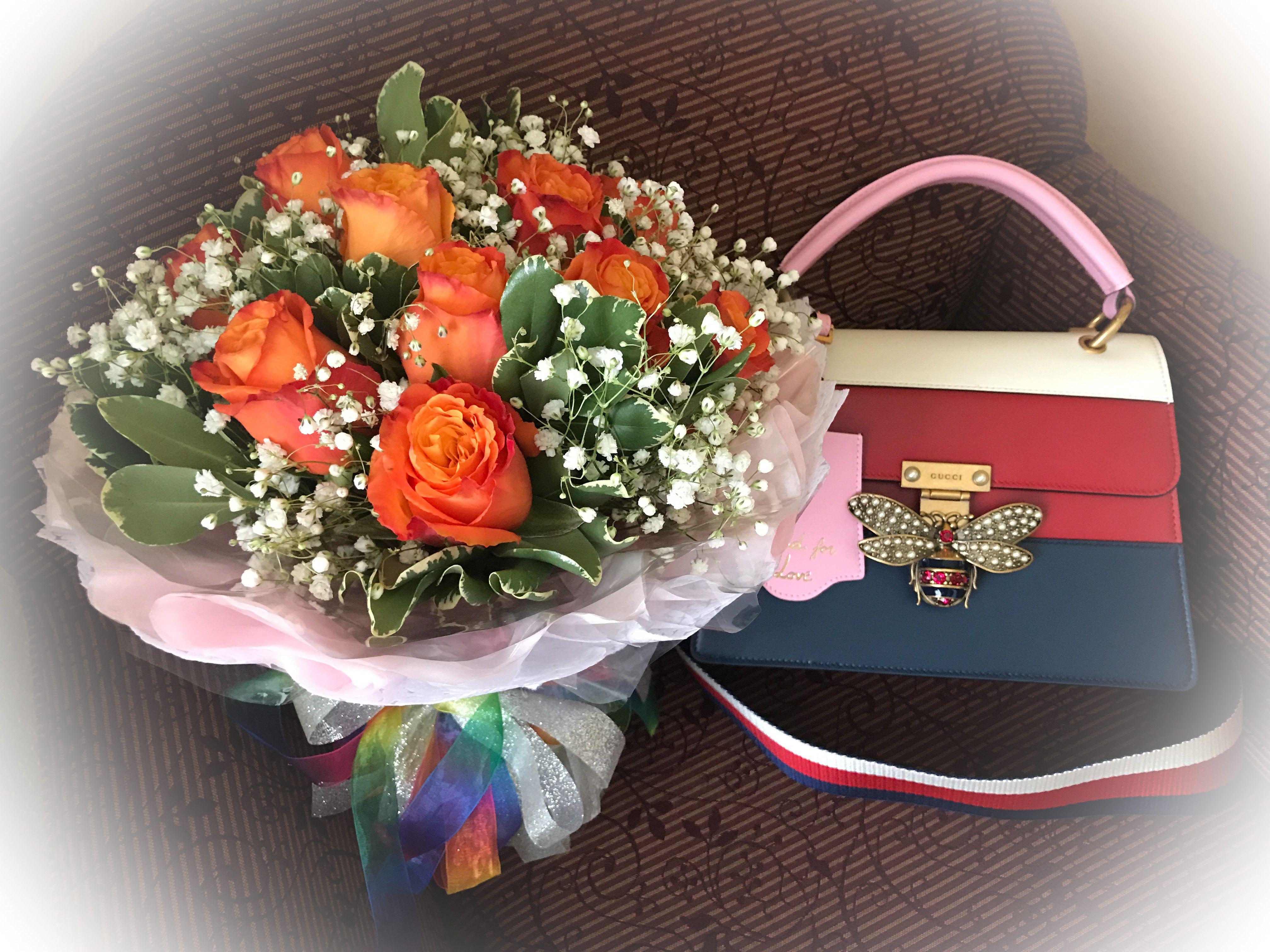 Pin By Yen Yen On Flower Bag Flower Bag Floral Beautiful Flowers