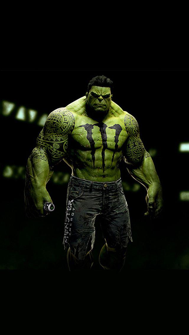 Sponsored Superheroes Hulk (With images) Monster energy