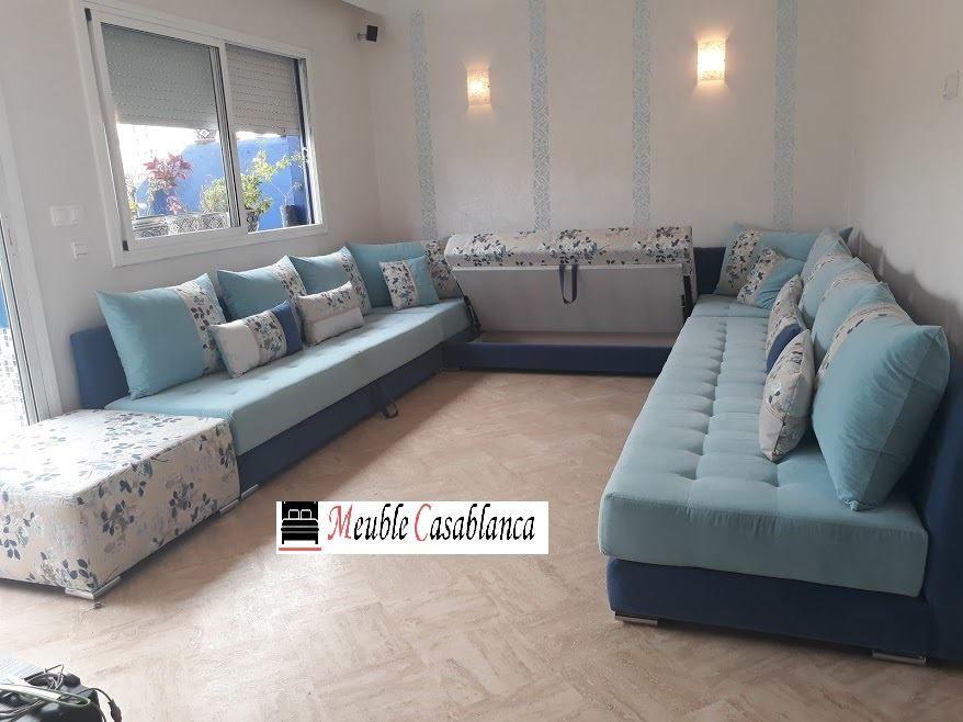 Salon form L et U a Casablanca - Maroc | Design intérieur ...