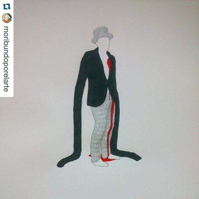 #Repost @moribundoporelarte  #estoydeputamadre #marioneta #puppet #ilustración #ilustration #dibujo #draw #lapicero #pencil #posca #grafito #graphite #papel #paper #arte #art #capricho #caprichos #madrid