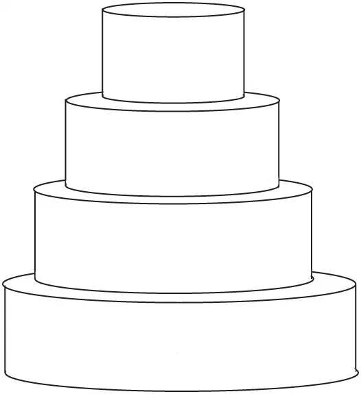 4 tier round template in 2019