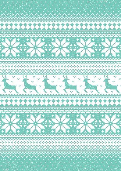 Reindeer Sweater Art Print | Fair Isle | Pinterest | Reindeer ...