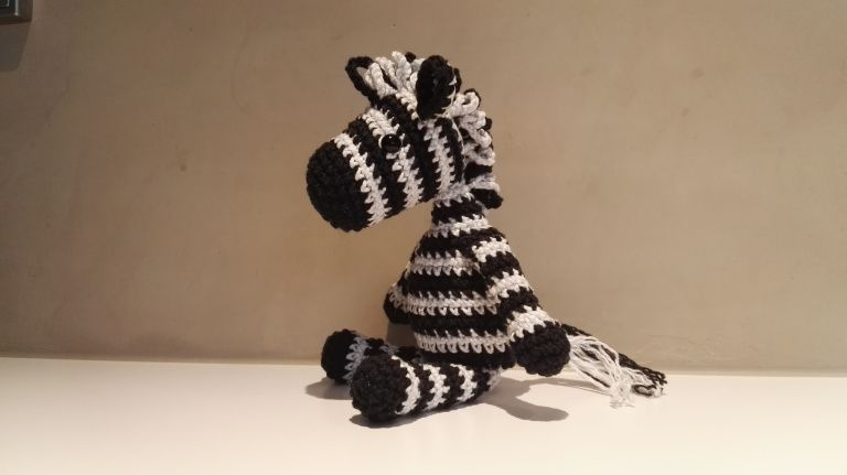 Zaza the Zebra | Projects to Try | Pinterest | Häkeln, Zebra häkeln ...