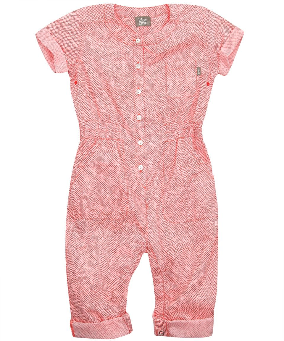 Coral Print Cotton Playsuit, Kidscase. | Kid Clothes | Pinterest ...