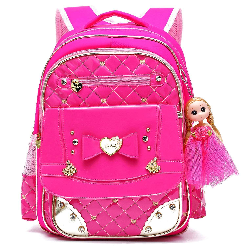 Ali Victory Waterproof PU Leather Kids Backpack Cute School Bookbag for  Girls (Large 999d9ea6e86e5