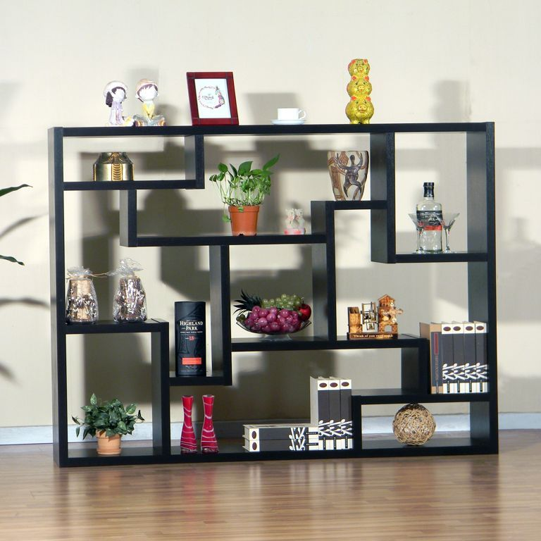 Living Room : Attractive Square Living Room Shelving Ideas With ...