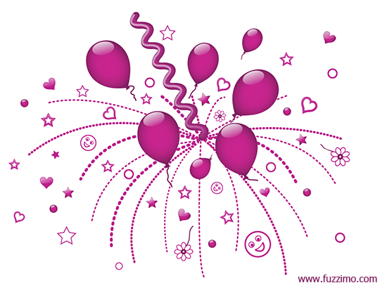 pink balloons png - Buscar con Google