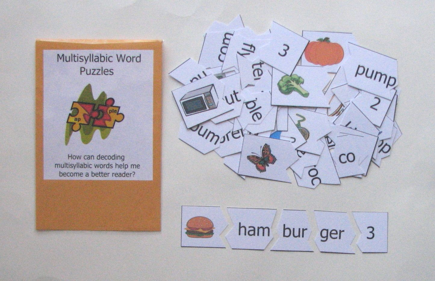 Multisyllabic Word Puzzles Help Students Practice And