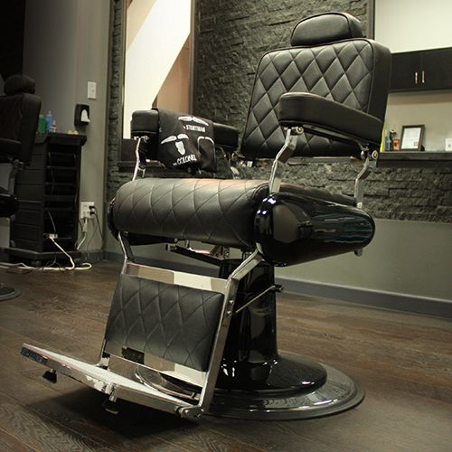 Hard Line Barber Chair | Keller International