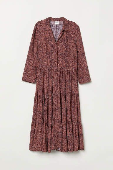 fbda939b0c31 Patterned Shirt Dress | Products | Dresses, Shirt Dress, Shirts